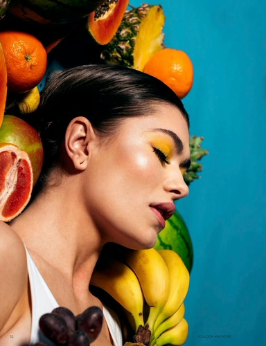 Women Photoshoot With Fruits Captured by Steffen Sharikov - Fashion Photographer