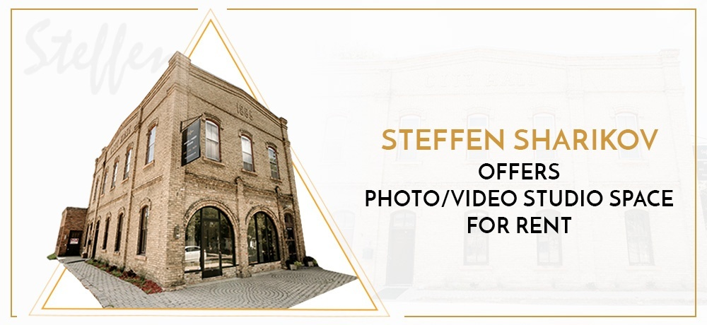 Steffen Sharikov Offers Photo Video Studio Space For Rent
