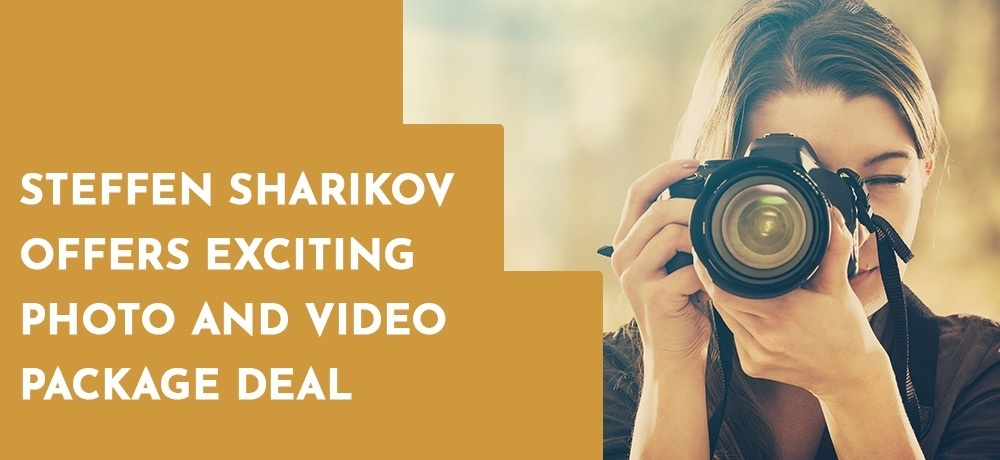 Steffen Sharikov Offers Exciting Photo and Video Package Deal