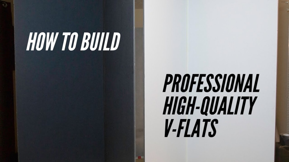 How to Build Professional High-quality V-flats